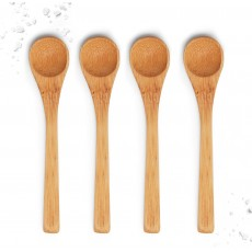 bamboo salt spoon